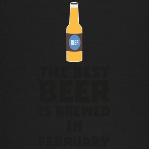 Best beer is brewed in February. S4i8g Baby Long Sleeve Shirts - Baby Long Sleeve T-Shirt