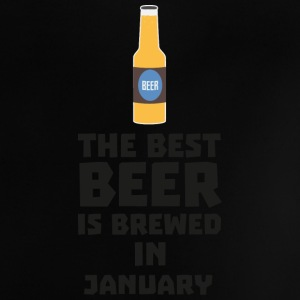 Best Beer is brewed in January Sxe8k Baby Shirts  - Baby T-Shirt