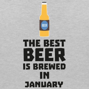 Best Beer is brewed in January Sxe8k T-shirts - Dame-T-shirt med V-udskæring