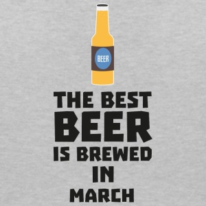 Best beer is brewed in March. Sp9fl T-Shirts - Women's V-Neck T-Shirt