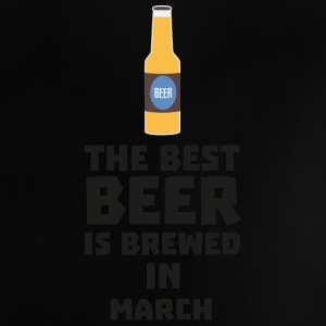 Best beer is brewed in March. Sp9fl Baby Shirts  - Baby T-Shirt