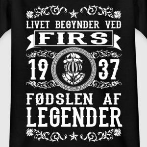 1937 - 80 år - Legender - 2017 - DK Shirts - Teenage T-shirt