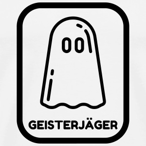 jagt / døden / paranormale / Hunting ghost T-shirts - Herre premium T-shirt
