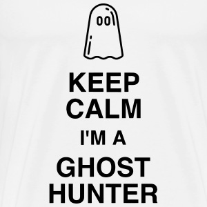 Chasse aux fantômes Geisterjagd Hunting ghost T-Shirts - Men's Premium T-Shirt