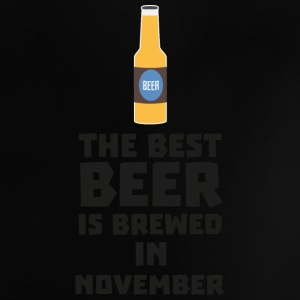 Best beer is brewed in November. Sk446 Baby Shirts  - Baby T-Shirt