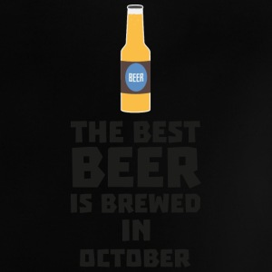 In October, best beer is brewed. S5k5z Baby Shirts  - Baby T-Shirt