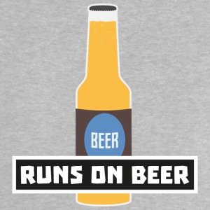 Runs on beer S7ta2 Baby Shirts  - Baby T-Shirt