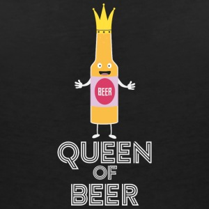 Queen of beer Sh80k T-Shirts - Women's V-Neck T-Shirt
