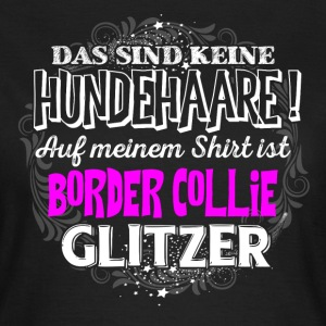 BORDER COLLIE - Glitzer - Frauen T-Shirt
