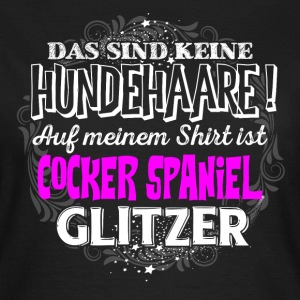 Cocker Spaniel - Glitzer - Frauen T-Shirt