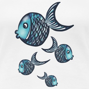 Fisches T-Shirts - Frauen Premium T-Shirt