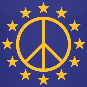 Europe Peace Sign, EU stars, flag, symbol Shirts - Kids' Premium T-Shirt