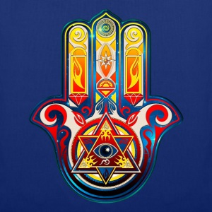 Hamsa Hand Of Fatima, Symbol, Eye, Pyramide Bags & Backpacks - Tote Bag