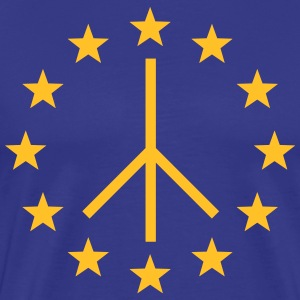 Europa Peace Sign, European Union, Movement T-Shirts - Men's Premium T-Shirt