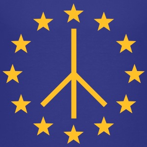 Europa Peace Sign, European Union, Movement Shirts - Teenage Premium T-Shirt