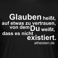 Motiv ~ Glauben heisst..