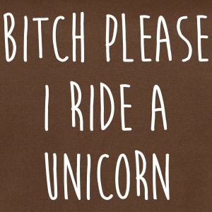 Ride A Unicorn Funny Quote Bags & Backpacks - Shoulder Bag