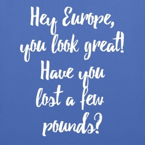 Europe Lost Pounds Political Satire Humour Sacs et sacs à dos - Tote Bag