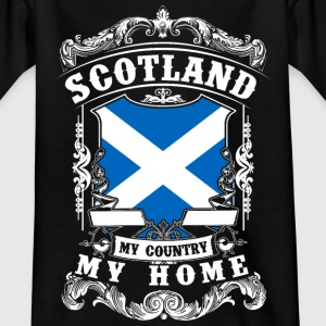Scotland - My country - My home Shirts - Teenage T-shirt