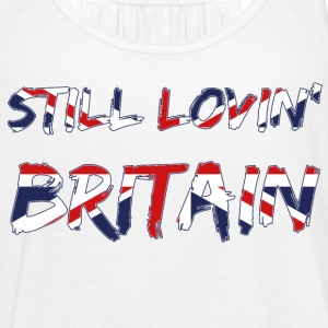 Still Lovin Britain Brexiters Union Jack Flag Tops - Women's Tank Top by Bella
