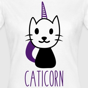 Caticorn : chat licorne - T-shirt Femme