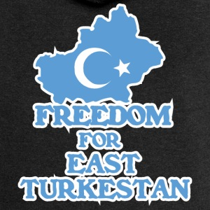 Freedom for East Turkestan Sweat-shirts - Veste à capuche Premium Femme