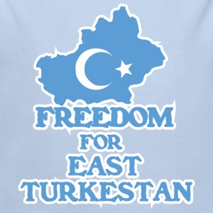 Freedom for East Turkestan Baby Bodysuits - Longlseeve Baby Bodysuit