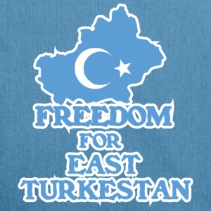 Freedom for East Turkestan Borse & Zaini - Borsa in materiale riciclato