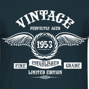 Vintage Perfectly Aged 1953 T-Shirts - Men's T-Shirt