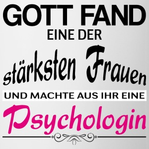 Cooles Design für jede Psychologin! - Tasse