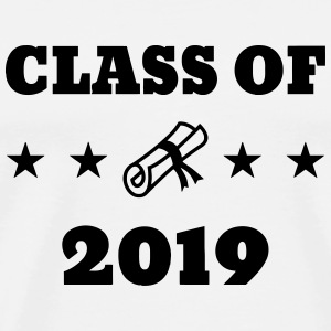 Class of 2019 - School - Schule - Ecole - Student T-Shirts - Men's Premium T-Shirt