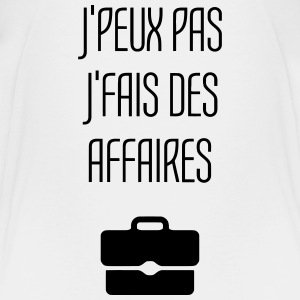 Affaires - Business - Commerce - Argent - Travail Tee shirts - T-shirt Premium Ado