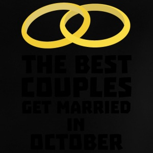 The best couples in October Sa17y Baby Shirts  - Baby T-Shirt