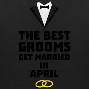 The best groom in APRIL Sk28o T-Shirts - Women's V-Neck T-Shirt