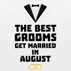 The best groom in the AUGUST Sd3kx T-Shirts - Women's V-Neck T-Shirt