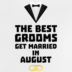 The best groom in the AUGUST Sd3kx Baby Shirts  - Baby T-Shirt