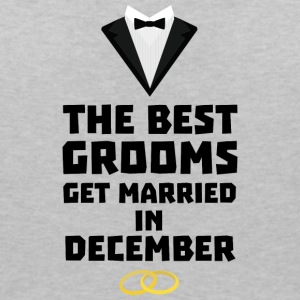 The best groom in December Sd18l T-Shirts - Women's V-Neck T-Shirt