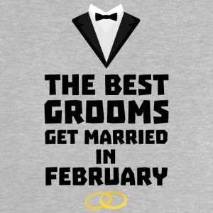 The best groom in February Sn77z Baby Shirts  - Baby T-Shirt