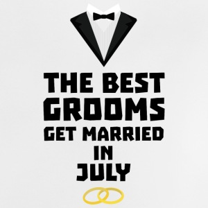 The best groom in July S3uvi Baby Shirts  - Baby T-Shirt