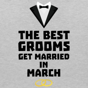 The best groom in the März Sk111 T-Shirts - Women's V-Neck T-Shirt