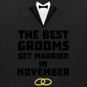The best groom in NOVEMBER Sw5a2 T-Shirts - Women's V-Neck T-Shirt