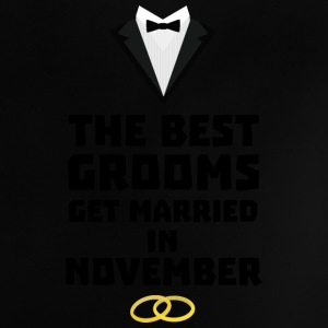 The best groom in NOVEMBER Sw5a2 Baby Shirts  - Baby T-Shirt