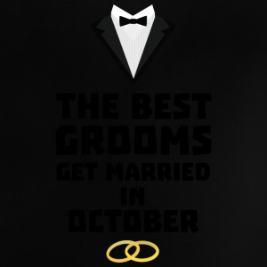 The best groom in October Stf13 Baby Shirts  - Baby T-Shirt