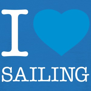 I LOVE SAILING - Men's T-Shirt
