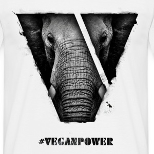 #VeganPower - Gorilla - Men's T-Shirt