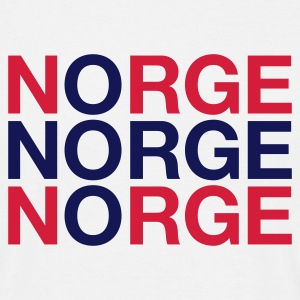 NORGE - Herre-T-shirt