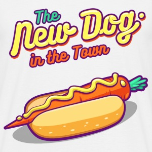 The New Dog In The Town - Men's T-Shirt