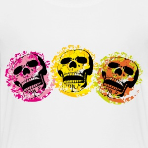 Three skulls Shirts - Teenage Premium T-Shirt