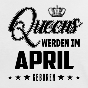 Queens - April - Geboren - Frauen Kontrast-T-Shirt