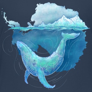Southern Ocean Whale Sanctuary T-Shirts - Teenager Premium T-Shirt